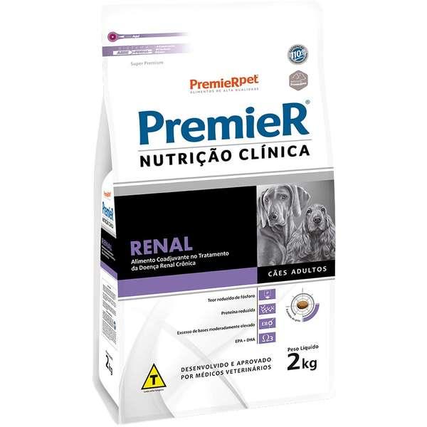 Ração Premier Nutrição Clínica Renal para Cães Adultos - 2 Kg