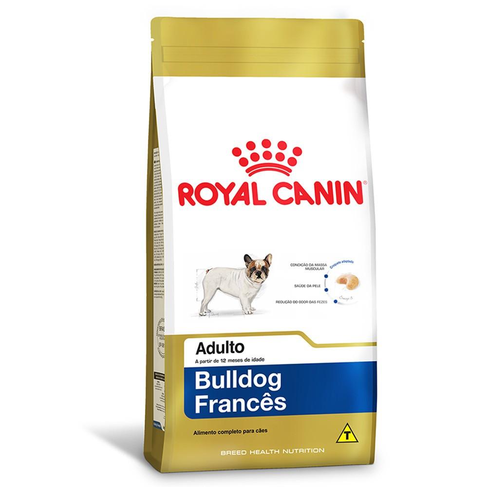 Ração Royal Canin Adulto Bulldog Francês 2,5kg
