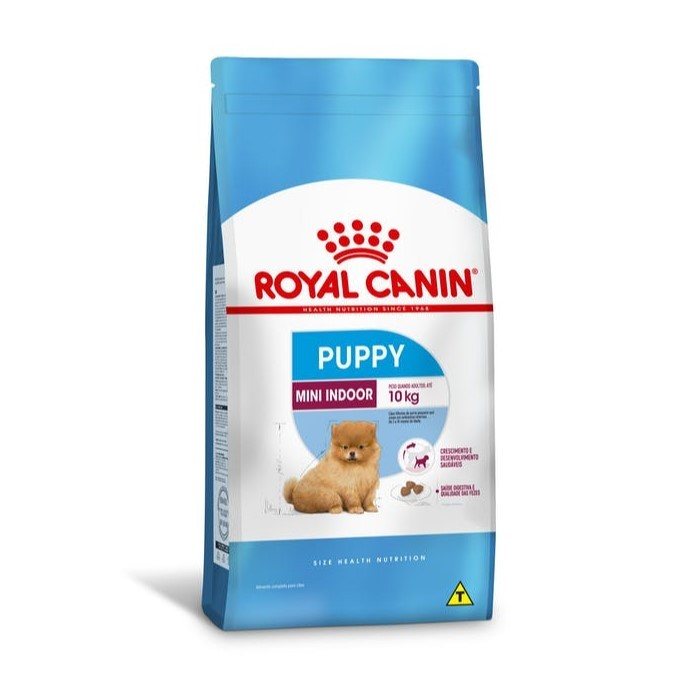 Ração Royal Canin Puppy Mini Indoor 2,5kg