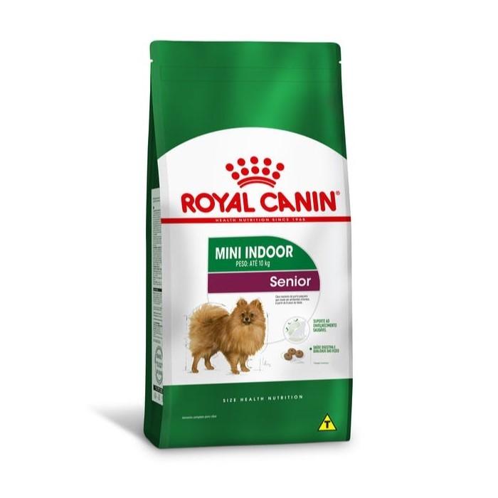 Ração Royal Canin Senior Mini Indoor 2,5kg