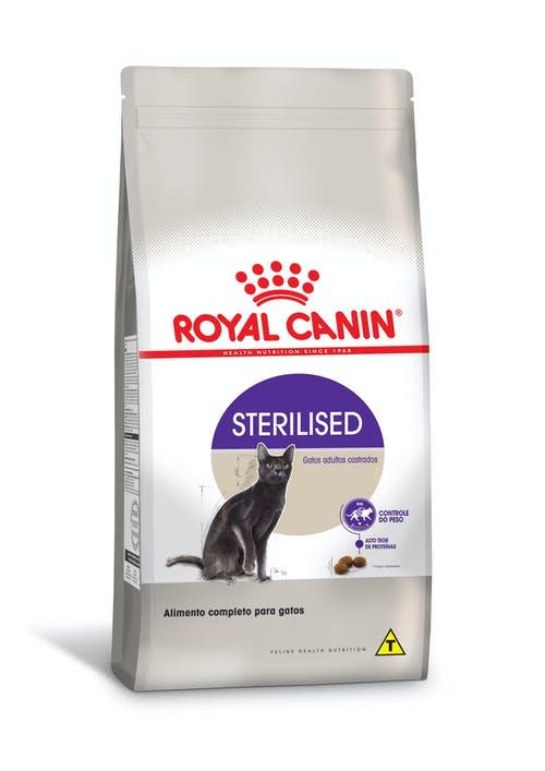 Ração Royal Canin Sterilised Gatos Adultos Castrados 7,5kg