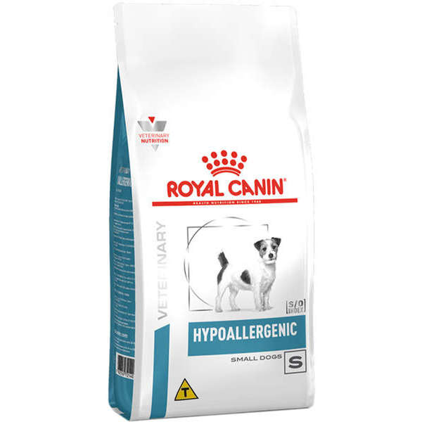 Ração Royal Canin Veterinary Diet Hypoallergenic para Cães Raças Pequenas - 2 Kg