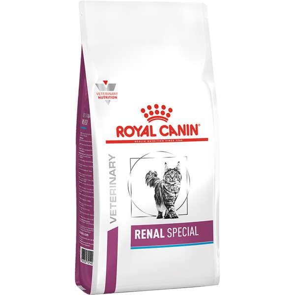 Ração Royal Canin Veterinary Diet Renal Special para Gatos - 4 Kg