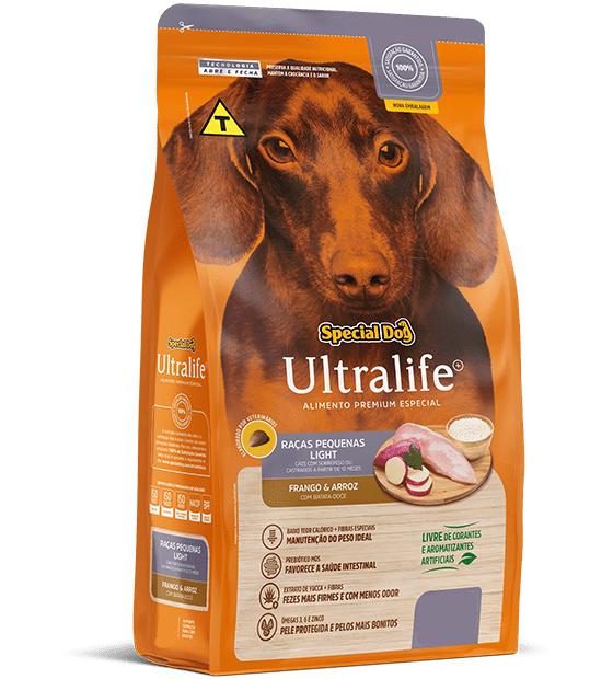 Ração Special Dog Ultralife Light para Cães de Raças Pequenas - 1 Kg