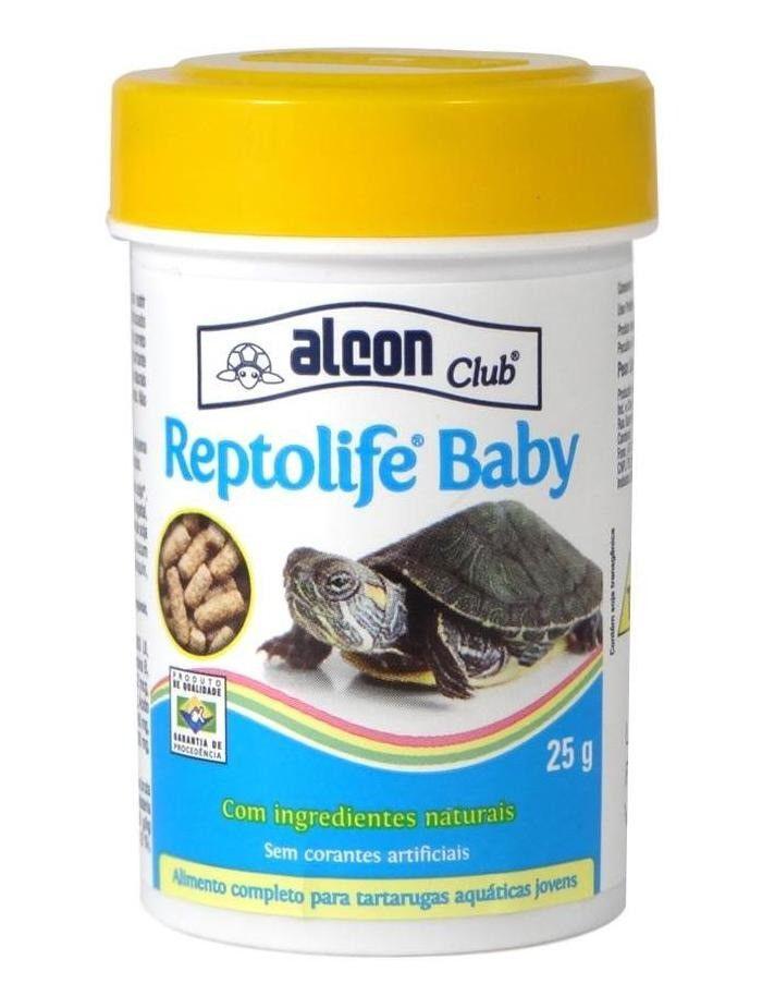 Ração Tartaruga Reptolife Baby Alcon 25g