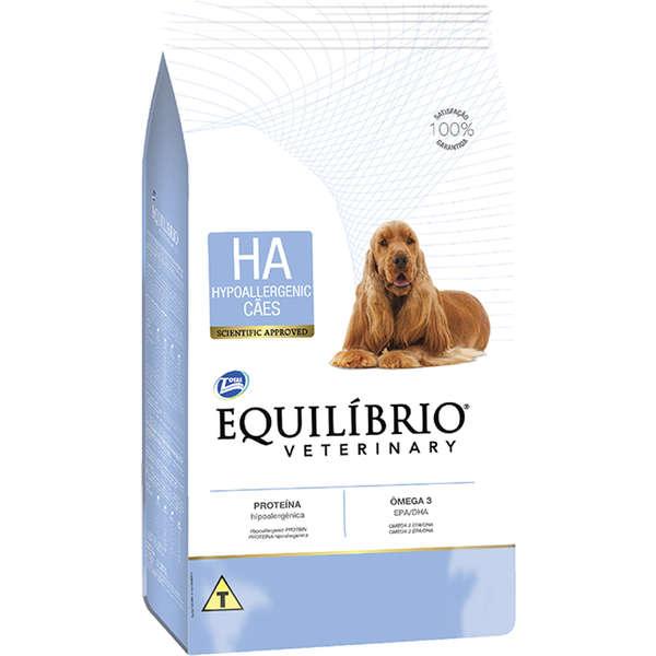 Ração Total Equilíbrio Veterinary HA Hipoalergênico para Cães Adultos - 2 Kg