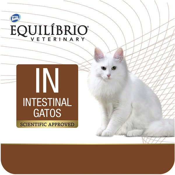 Ração Total Equilíbrio Veterinary IN Intestinal para Gatos - 2 Kg