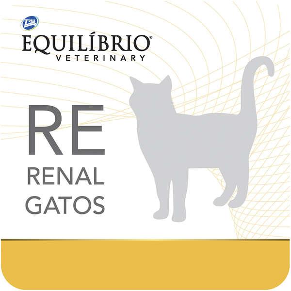 Ração Total Equilíbrio Veterinary RE Renal para Gatos - 2 Kg