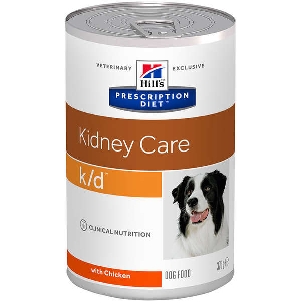 Ração Úmida Hill's Prescription Diet K/D Cuidado Renal Para Cães 370g