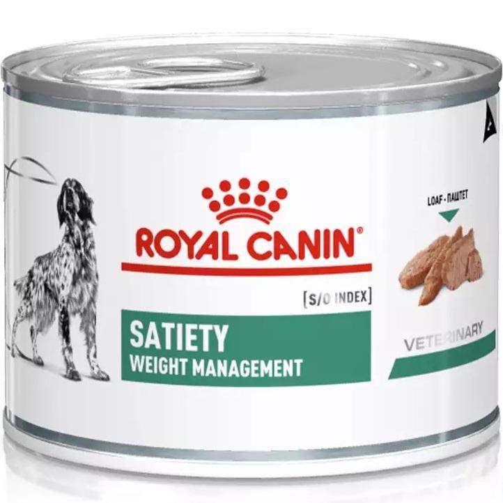 Ração Úmida Royal Canin Satiety Weight Management Para Cães 195g