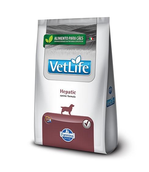 Ração Vet Life Natural Hepatic para Cães 2 kg
