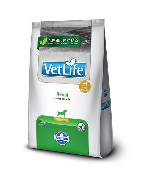 Ração Vet Life Natural Renal para Cães Raças Pequenas 2 kg