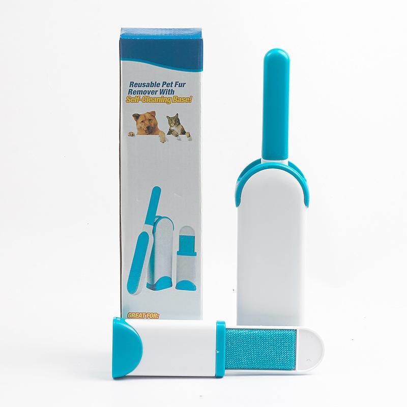 Removedor De Pêlos Reutilizável Pet Selt Cleaning Base