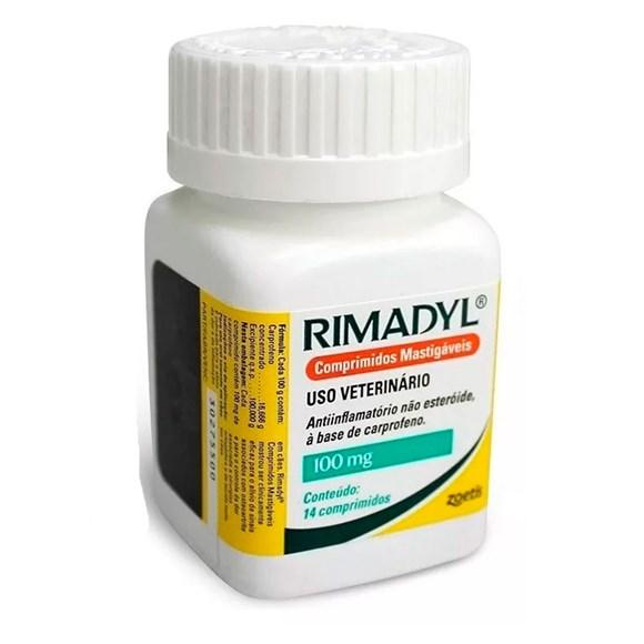 Rimadyl 100mg Anti-Inflamatório 14 Comprimidos