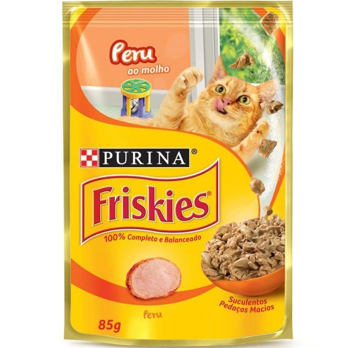 Sache Friskies Purina Adulto Peru 85g Kit 15 Und.