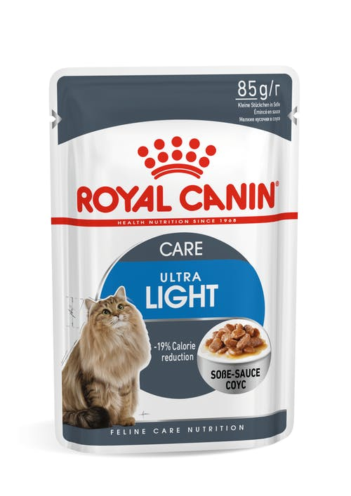 Sachê Royal Canin Ultra Light Gatos Adultos 85g