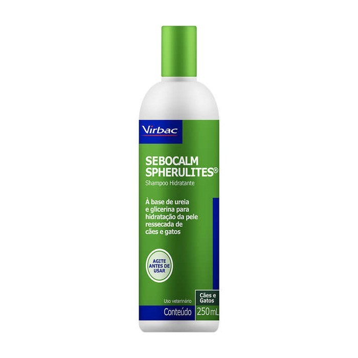 Sebocalm Spherulites Shampoo Hidradante Virbac 250ml