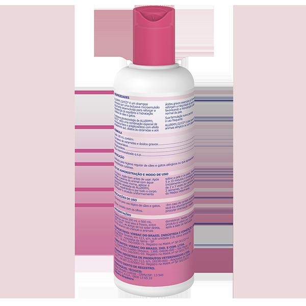 Shampoo Allermyl Glyco 250 Ml Virbac - Shampoo Para Cães