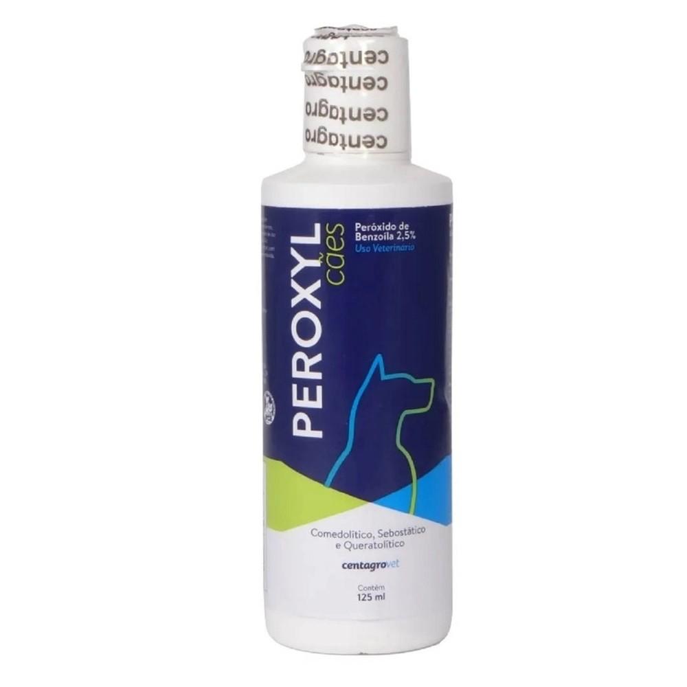 Shampoo Antibacteriano Centagro Peroxyl para Cães 125ml