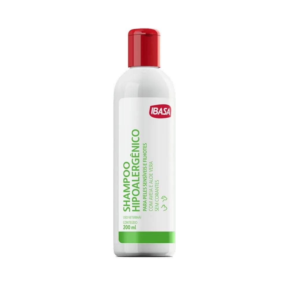 Shampoo Hipoalergênico Para Cães e Gatos Ibasa 200ml