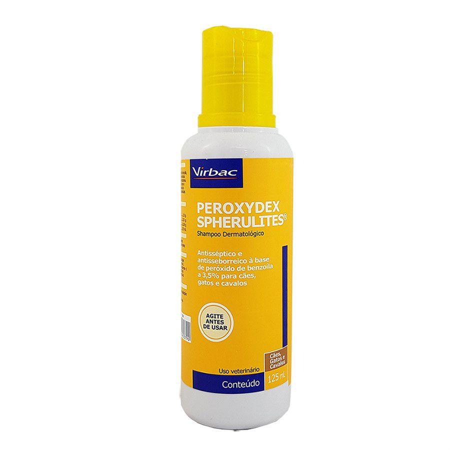 Shampoo Peroxydex Spherulites Virbac 125ml