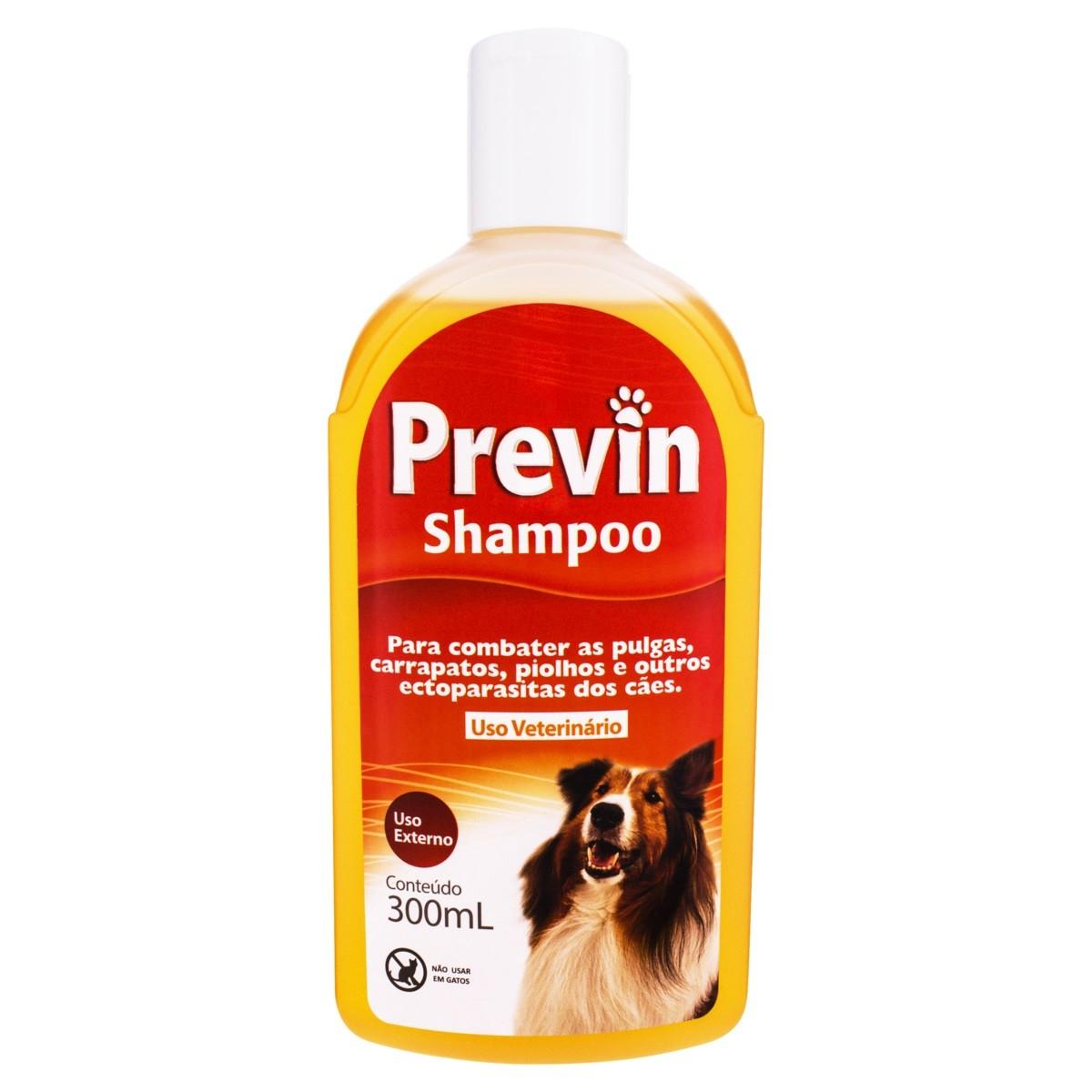 Shampoo Previn Antipulgas e Carrapatos 300ml