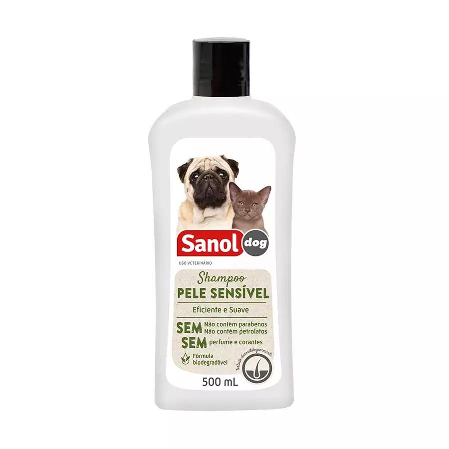 Shampoo Pele Sensível 500ml Sanol Dog