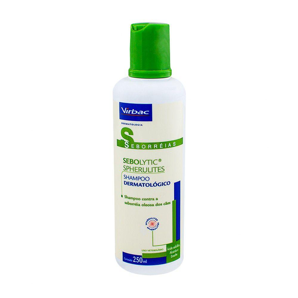 Shampoo Sebolytic Contra Seborréia Oleosa Para Cães 250ml