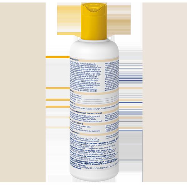 Shampoo Virbac Hexadene Spherulites Para Cães E Gatos -250ml