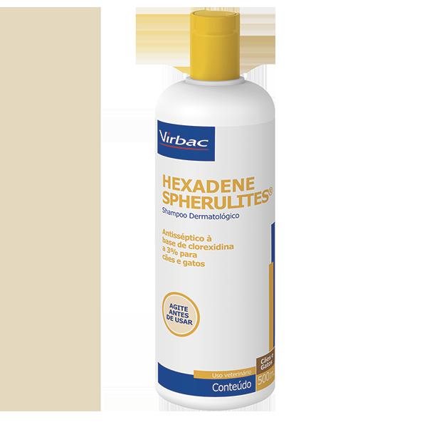 Shampoo Virbac Hexadene Spherulites Para Cães E Gatos -500ml