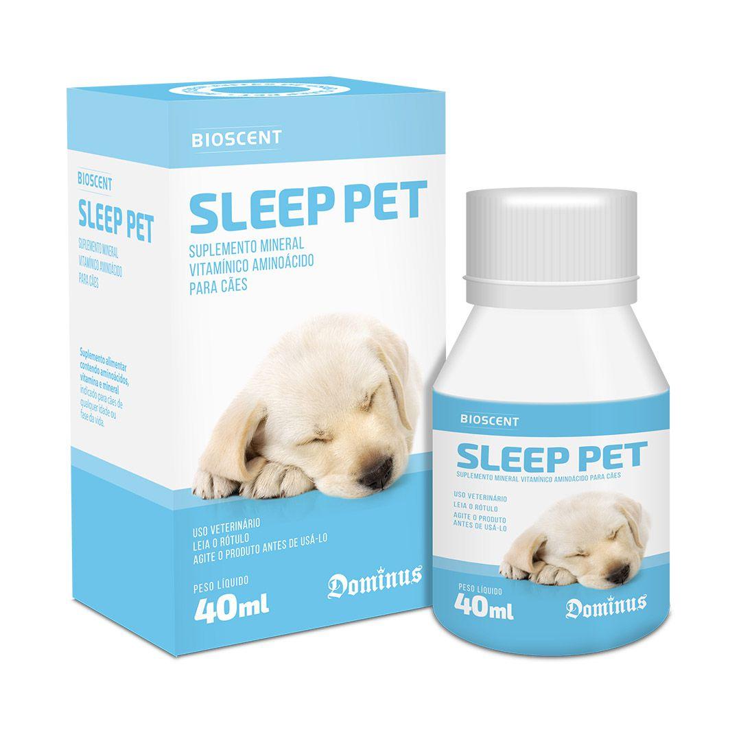 Sleep Pet Suplemento Mineral Vitamínico Para Cães 40ml