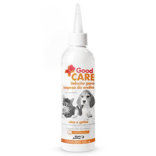 Solução Para Limpeza de Orelha Good Care para Cães e Gatos 100 mL