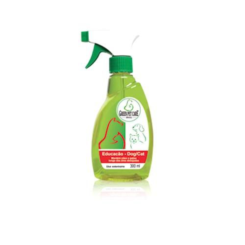 Spray Green Pet Care 300Ml Educação Dog Cat