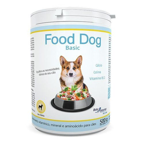 Suplemento Food Dog Basic Botupharma 500g