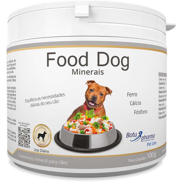 Suplemento Food Dog Minerais 100g