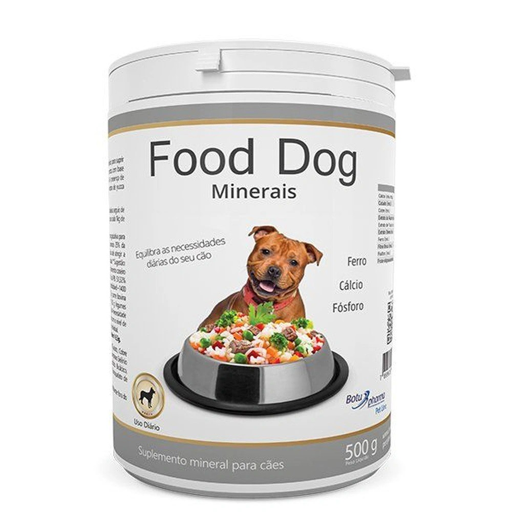 Suplemento Food Dog Minerais 500g