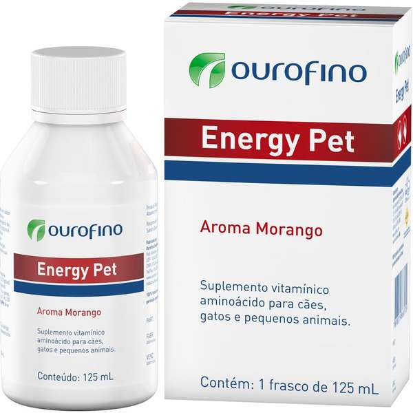 Suplemento Vitamínico Energy Pet 125ml