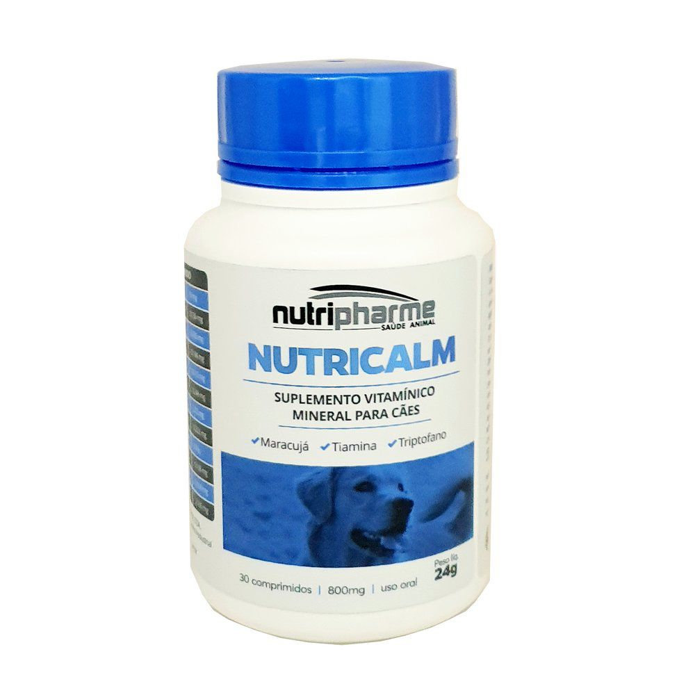 Suplemento Vitamínico Nutricalm 30cps Nutripharme