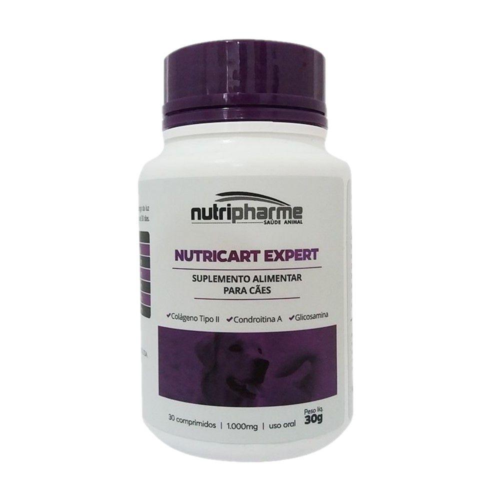 Suplemento Vitamínico Nutricart Expert 30cps Nutripharme