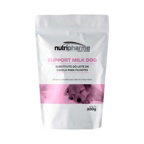 Support Milk Dog Suplemento Nutripharme Para Cães Filhotes 300g