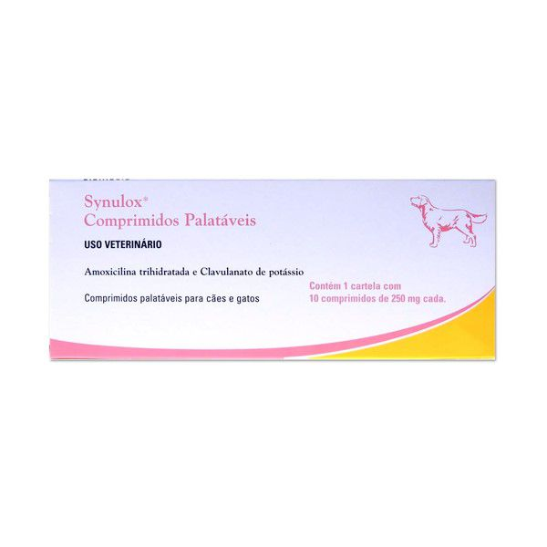 Synulox 250mg 10 Comprimidos