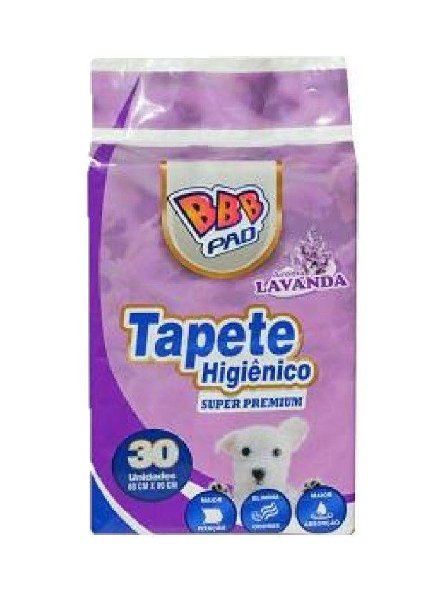Tapete Higiênico Super Premium Bbb Pet 30un Lavanda