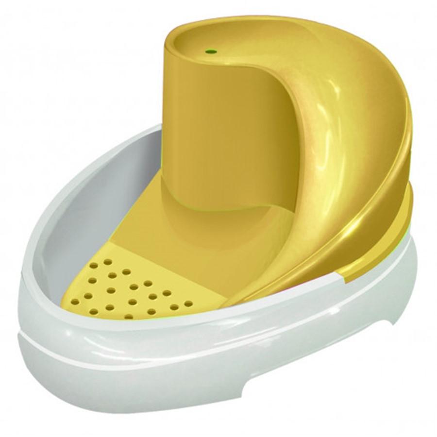 Tobo Fonte Bebedouro Automático Caes E Gatos Amarelo