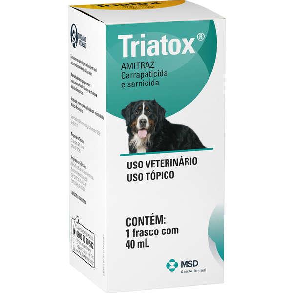 Triatox Carrapaticida e Sarnicida Uso Tópico 40ml