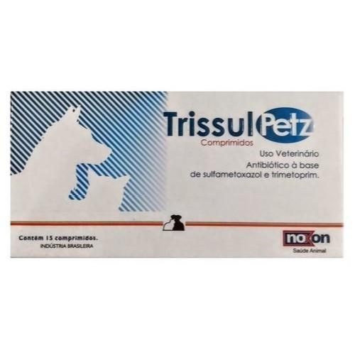 TrissulPetz 15 Comprimidos