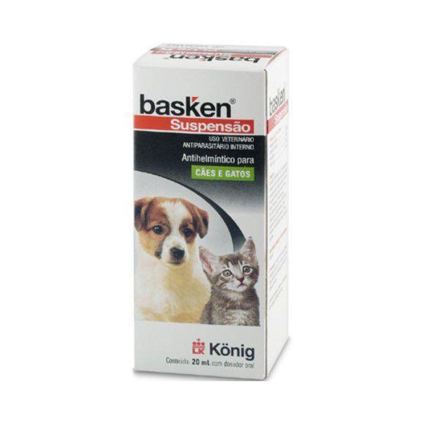 Vermífugo Basken Suspensão Plus 20ml Konig