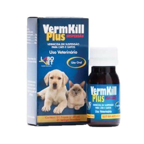 Vermífugo VermKill Plus Suspensão 20ml