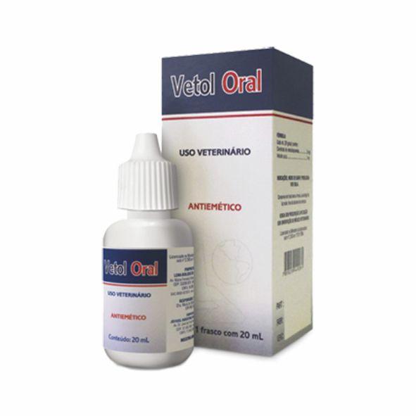 Vetol Oral Antiemético 20ml