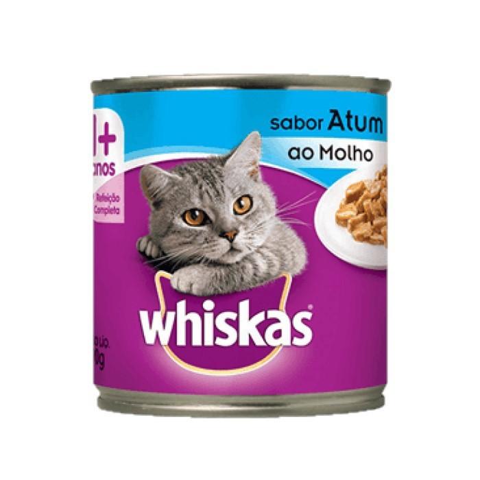 Whiskas Lata 1+ Adulto Atum ao Molho 290g