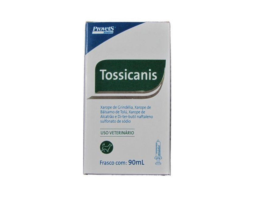 Tossicanis Xarope Provets Para Cães - 90ml